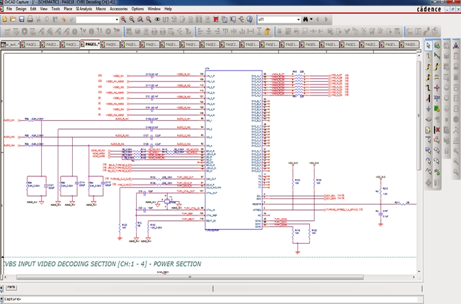 Schematic Capture support - Embizon Technologies - PCB Design ... on digital electronics, logic synthesis, electronic design automation, schematic editor,